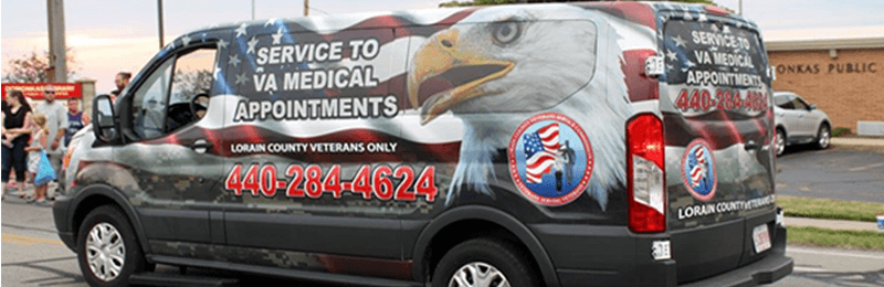 VA medical appointment transportation Wellington, OH